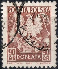 Poland.  1951.  Postage Due.  SGD709.    Used.