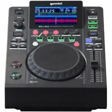 Gemini MDJ-500 Media Player Lettore Mp3 Professionale - Nero