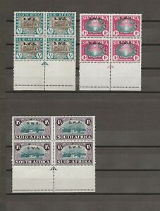 SOUTH WEST AFRICA 1939 SG 111/3 MNH Cat £130