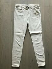 GAP Size 12 R Cream White Skinny Casual Comfy Pockets Stretchy Leggings Jeans