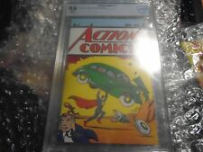 Superman Action Comics #1 Loot Crate Reprint Exclusive CBCS 9.8 Not CGC