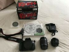 Canon EOS Rebel T5i /w 18-55 kit lens + 50mm 1.8 - great condition, original box
