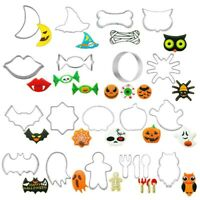 Halloween Biscuit Pastry Cookie Cutter Cake Decor Baking Mold Mould Party Tools