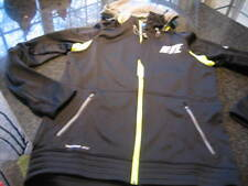 NWT - Mens NIKE Black/Bright Yellow THERM FIT Hooded Jacket (MED)