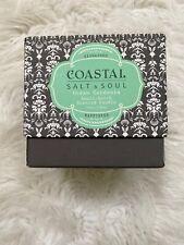 Coastal Salt & Soul Ocean Gardenia Small-Batch Scented Candle 10-OZ NEW