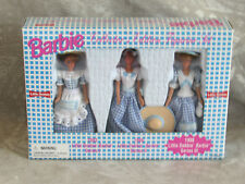 "1998 Barbie Little Debbie Doll Set 4"" Dolls NIB"