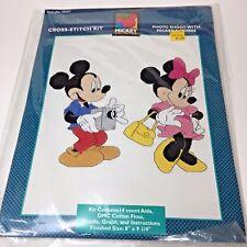 Mickey and Minnie Cross Stitch Kit Photo Shoot Just Cross Stitch Disney