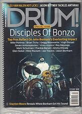 DRUM! 199 January 2013 Cover BONZO JOHN BONHAM + 2014 Drums & Percussion GUIDE