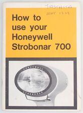 Strobonar 700 How To Guide