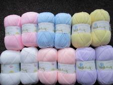 12 x 100g Palline di James Brett Baby DK Misto Colori Pastello di filato/lana