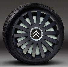 """Set of 4 ( 15"""" ) wheel trims, Hub Caps, Covers to fit Citroen Picasso"""