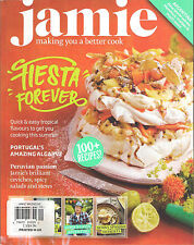 NEW! JAMIE MAGAZINE UK Issue 41 August 13 2013 Ceviche Chorizo 100+ Recipes