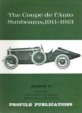 AUTOMOBILE PROFILE 37 COUPE de l AUTO SUNBEAM RACE CARS 1911-1913 DIEPPE BOULOGN