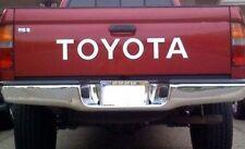 TOYOTA TAILGATE  Vinyl Decal Sticker Emblem Logo Graphic WHITE Lettering Vehicle