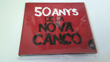 "CD ""50 ANYS DE LA NOVA CANÇO"" CD 14 TRACKS COMO NUEVO PAU RIBA MARC PARRTOT SISA"