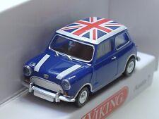 """Wiking Morris Mini/ Austin 7 """"UNION JACK"""" - 0226 04 - 1:87"""