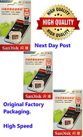 SanDisk Micro SD Memory Card 64GB 32GB  16G  Micro SDHC SDXC  Ultra Class 10
