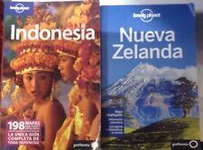 Guia Lonely Planet Indonesia Edición 2010+ Nueva Zelanda 2013
