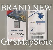 2014 2015 Ford Fiesta Transit Lincoln MKZ Navigation SD Card U.S CAN Map A7 NEW