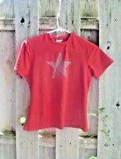 RED vintage 1990s juniors MEDIUM M tee T-SHIRT vintage STAR Alternative 90s TOP