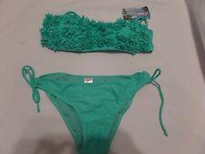 Woman's Green Bikini Bathing Suit by Stylish, Size Large, NIB