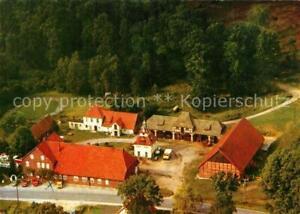 33327064 Lutterloh Fliegeraufnahme Pension Reiterhof Zum Lotharstein Lutterloh