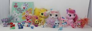 DISNEY PRINCESS PALACE PETS TOYS Lot of 20 Pieces Book 3 Plush 12 Figures Dolls