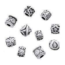 50 Mixte Perles Bloqueur &Caoutchouc pr Bracelet Charms