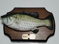 Big Mouth Billy Bass Singing Fish Take Me To The River Don't Worry Be Happy 1999