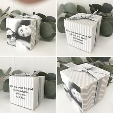 Friendship Photo Cube Gift Personalised Birthday/Christmas P285
