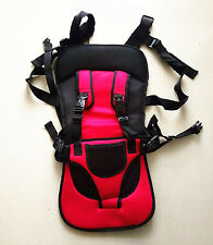 Baby Children Car Red Safety Safe Secure Booster Harness Seat Cover Cushion