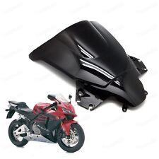 Black Double Bubble Windscreen Windshield Shield for Honda CBR250R 2011-2013 12