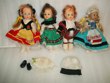 "Vintage Symbol of Quality 7"" Dolls #7013 Hong Kong - Dusty - As Is - TLC"