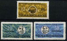 North Vietnam 1963 SG#N267-9 Team Manned SPace Flights MNH Set #D35471