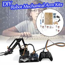 DIY Montage  4 Dof Roboterarm PS2 Griff & Schaltung Kits für Arduino Mechaniker
