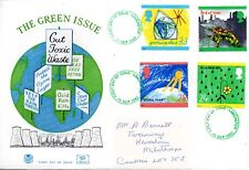 1992 Sg 1629/32 Protection of the Environment Stuart First Day Cover