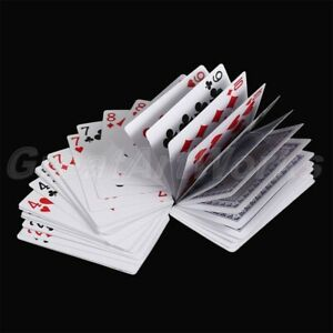 Magic Electric Deck Connected by Invisible Thread Cards Prank Trick Prop Poker