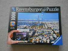 OVER ROOFTOPS OF PARIS 1000 piece jigsaw RAVENSBURGER 2012 Augmented Reality