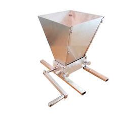 Intbuying Hand Held Malt Grain Mill Home Brewed Beer Machine