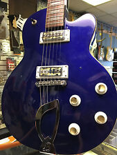 Dearmond Guitar with Gold Foil Moustache pickups Guild Bluesbird body