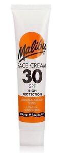 Malibu Face Cream SPF 30 UVA UVB Sunscreen Sun Protection 40ml Travel Size