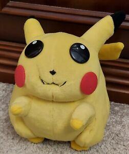 Nintendo 2000 Play by Play Vintage Pokémon Pikachu Soft Plush Toy Vintage