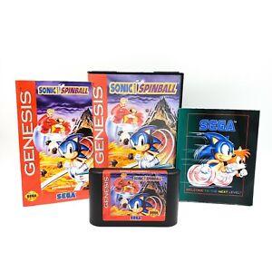 Sonic Spinball - Sega Genesis Game - 1993 - Tested - COLLECTORS DREAM