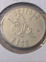 Token 1970 Buffalo Buck Regina Saskatchewan Canada 1 Dollar Coin P19