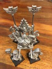 Dwarf King Thorgrim Grudge Bearer throne of Power Metal Warhammer FB Dwarves OOP