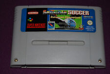 SENSIBLE SOCCER EUROPEAN CHAMPIONS - Sony - Jeu Football Super Nintendo SNES FAH