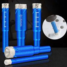 5-16mm Trocken Wachs Diamant Lochsäge Cutter Bohrer für Glasfliesen Ceramic Blue