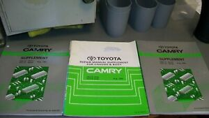 TOYOTA CAMRY 1993-94 WORKSHOP MANUALS,COLLISION AND WIRING MANUALS