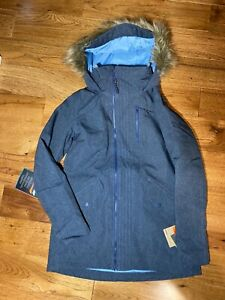 Burton Women's Hazel Jacket Snowboard Ski Denim Colorway Sz Medium New