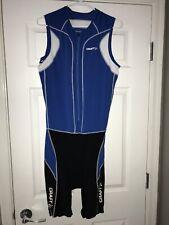 Craft Cycling Suit Mens Xxl Singlet Race Speed Skin Tri Trisuit Triathlon New Nr